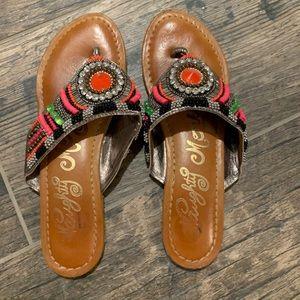 Gemstone sandals